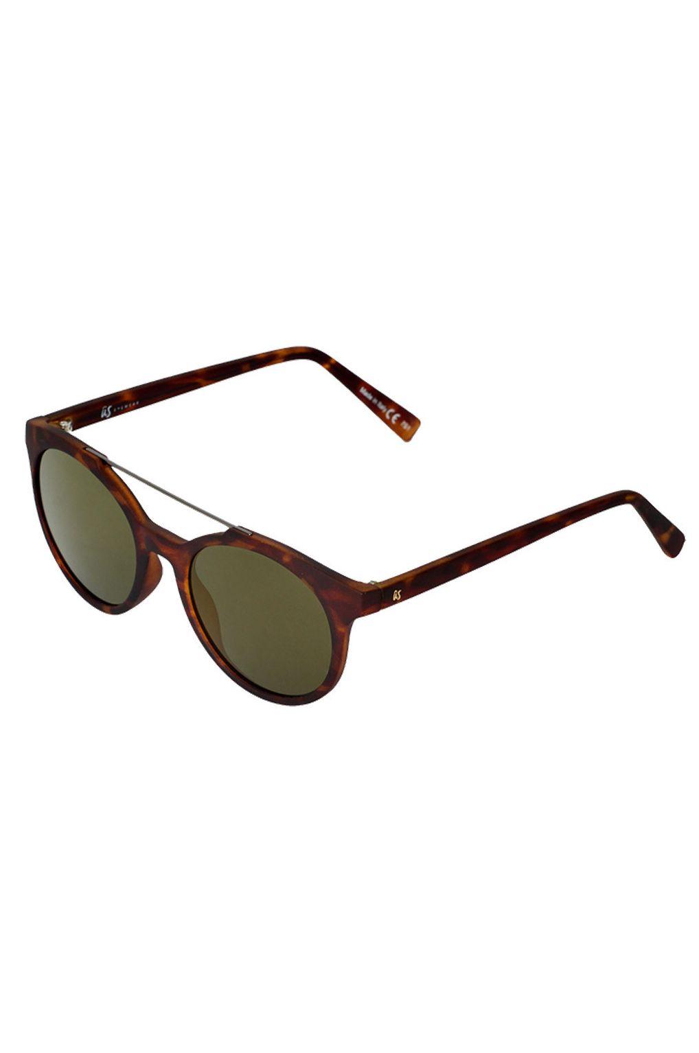 US Sunglasses CALIX Matte Tort/Grey Gold Chrome