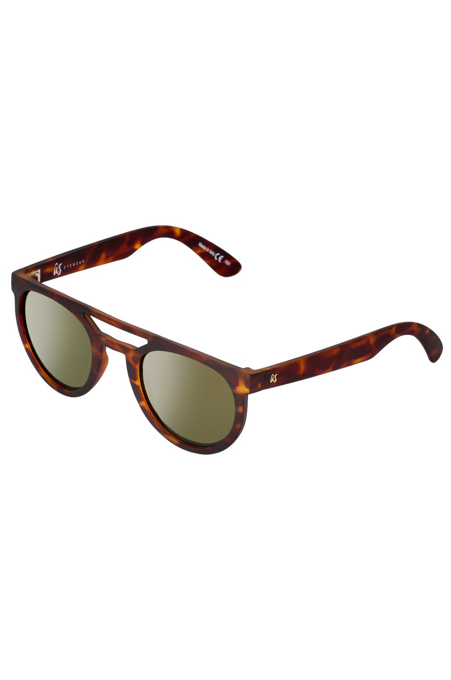 US Sunglasses NEOS Matte Tort/Grey Gold Chrome