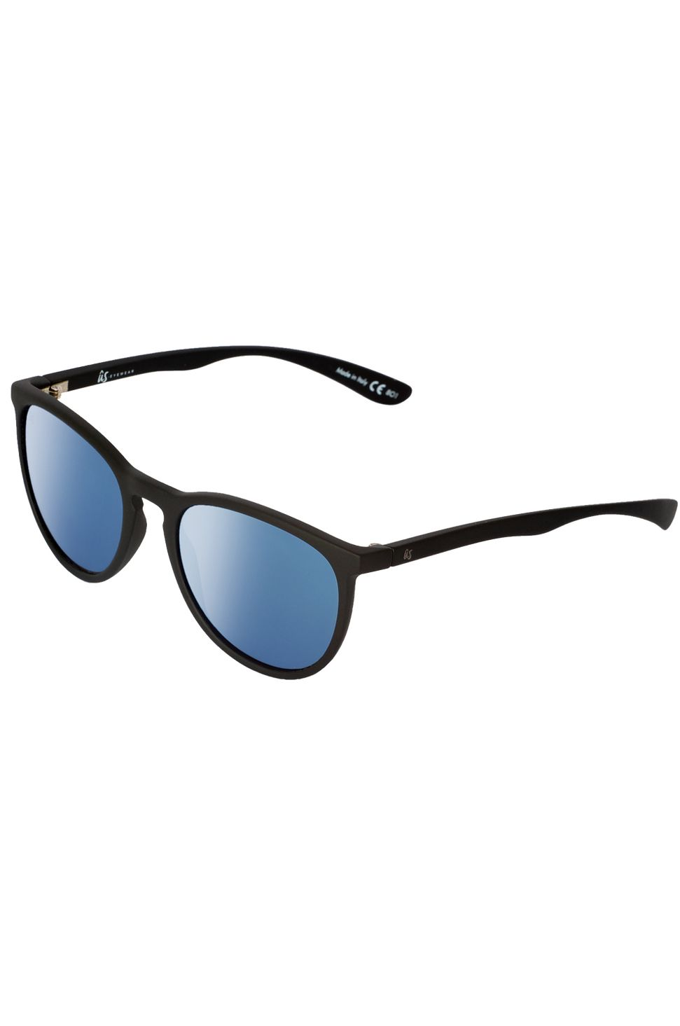 US Sunglasses NOBIS Matte Black/Grey Blue Chrome