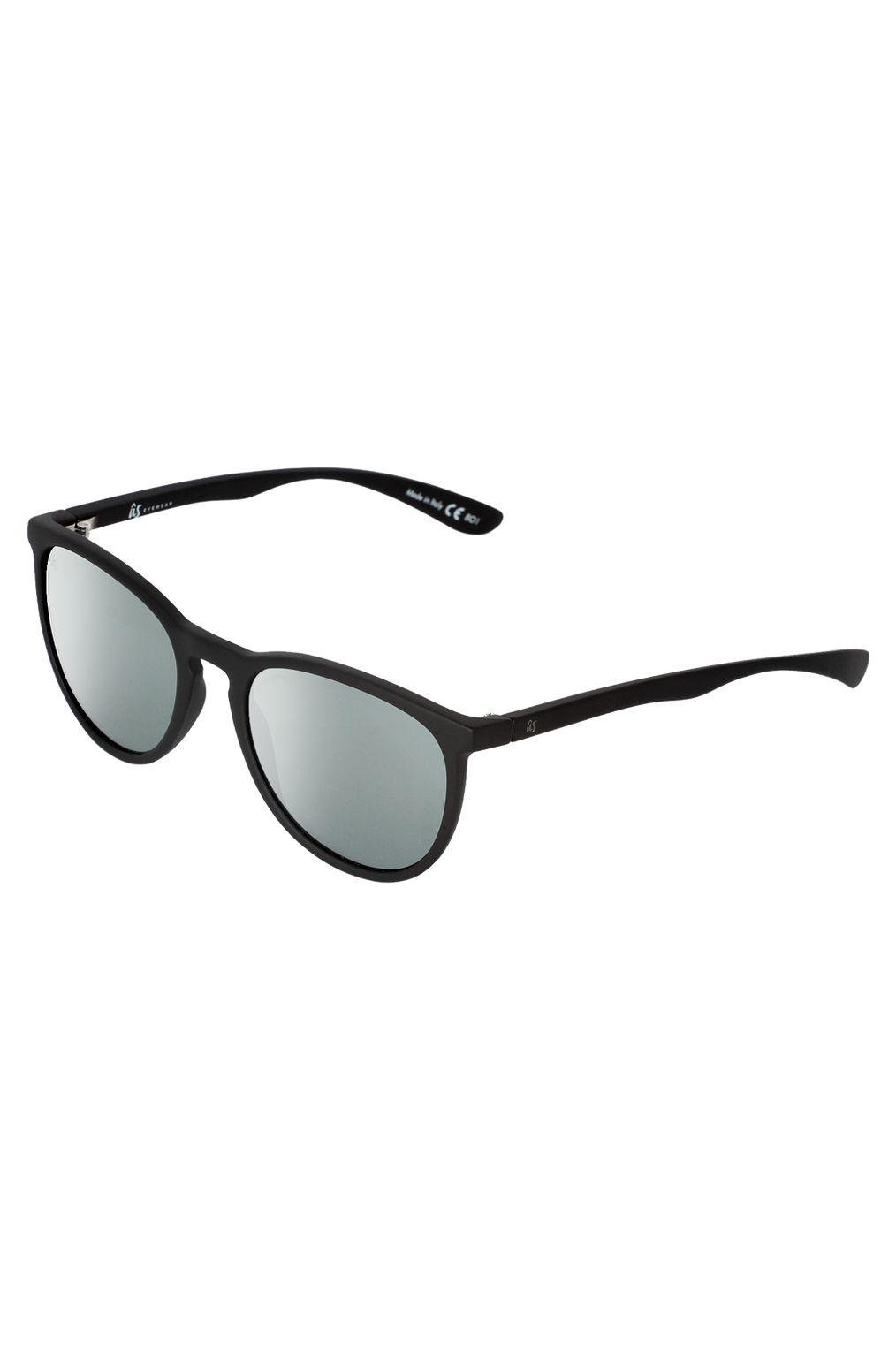 US Sunglasses NOBIS Matte Black/Vintage Grey Silver Chrome