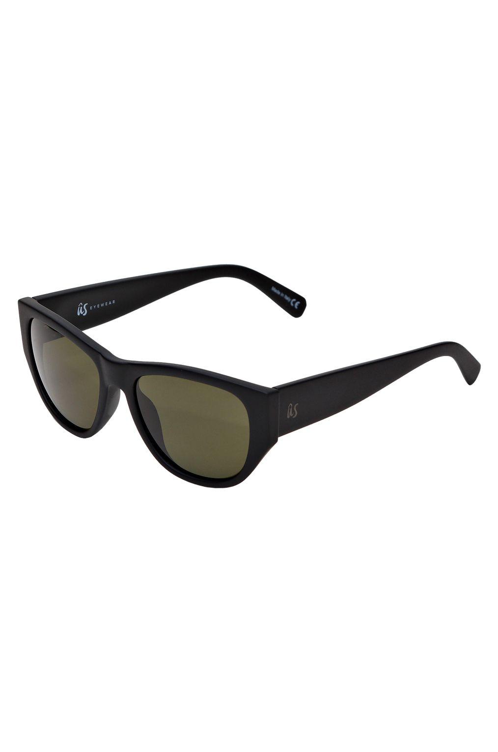 US Sunglasses DIMAGGIOS Matte Black/Vintage Grey Polarized