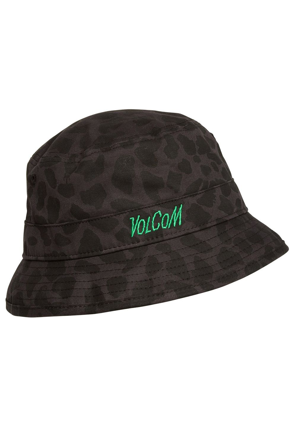 Chapeu Volcom GREENFUZZ REV BUCKET HAT Black