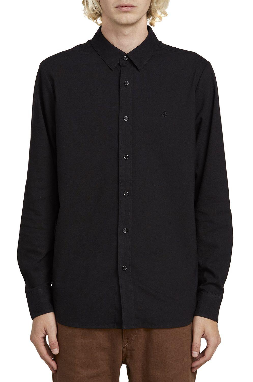 Camisa Volcom OXFORD STRETCH L/S New Black