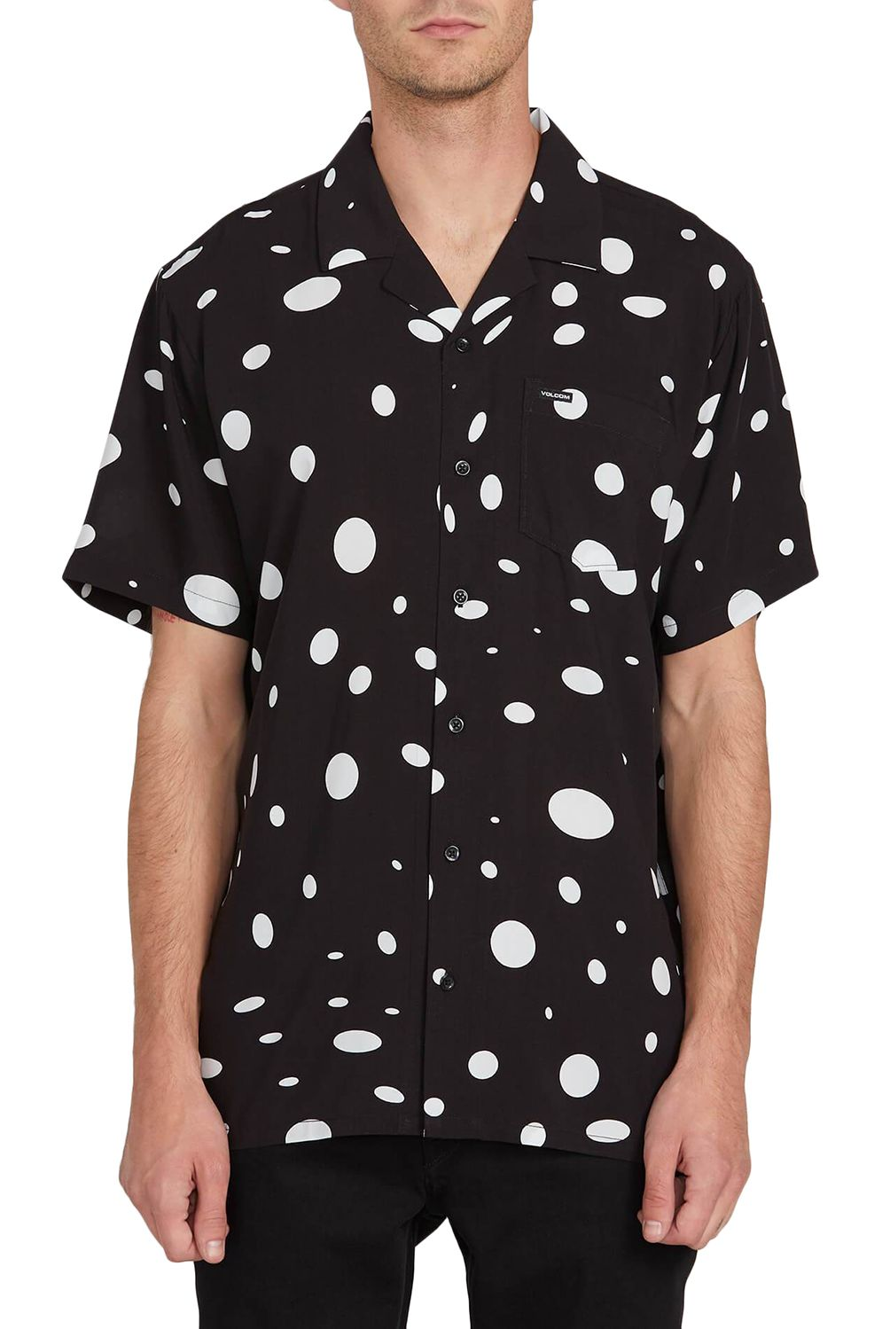 Camisa Volcom EMBERTONE S/S Black