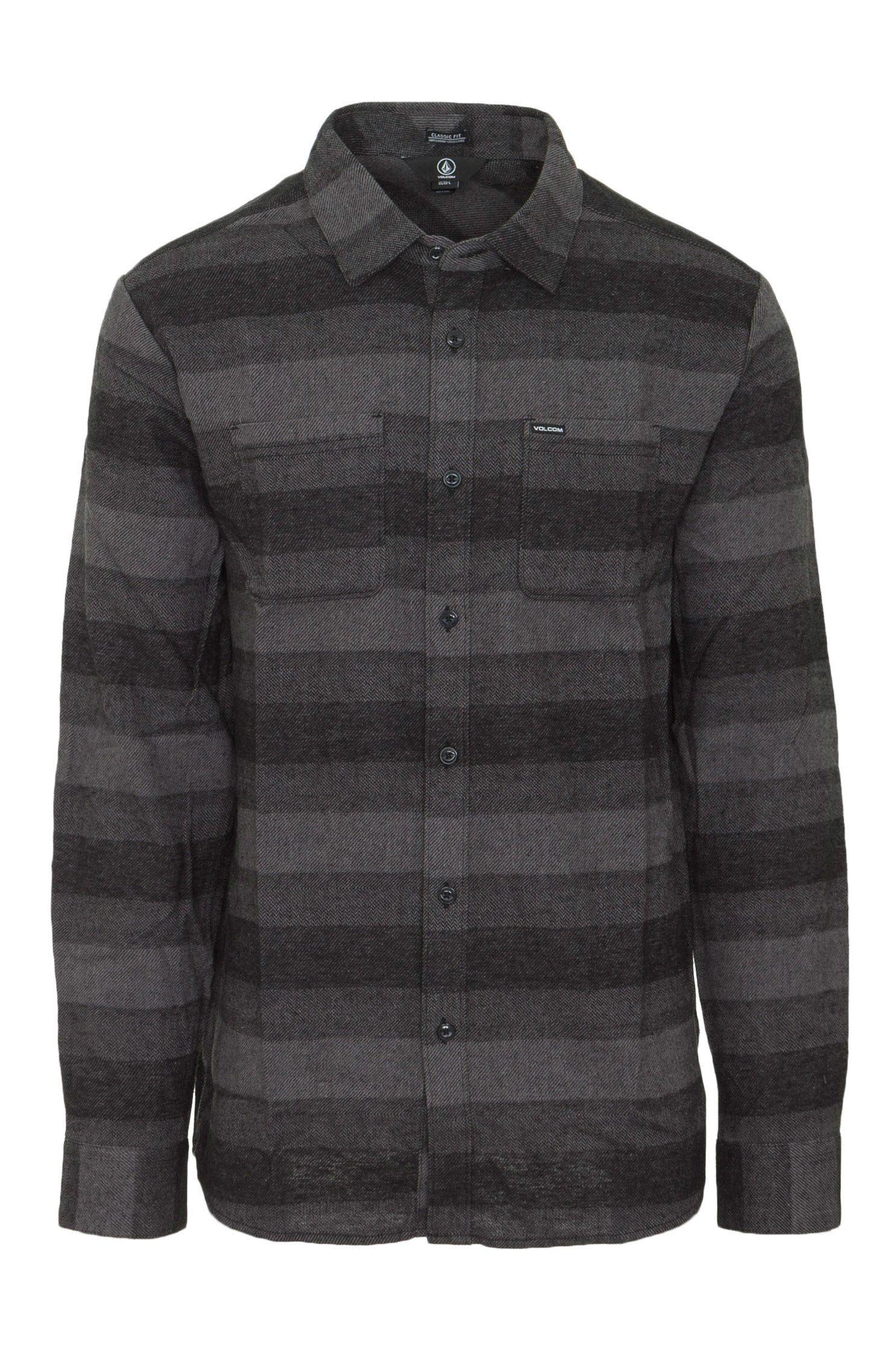 Volcom Shirt TONE STONE L/S Grey