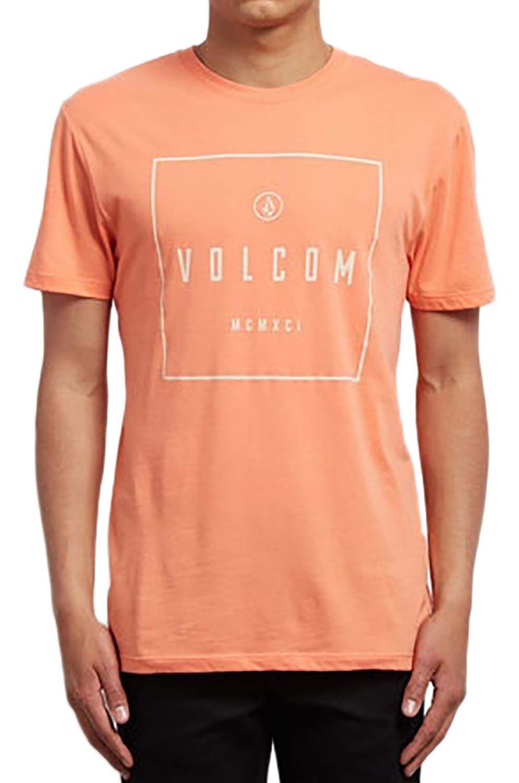 T-Shirt Volcom SCRIBE DD Salmon