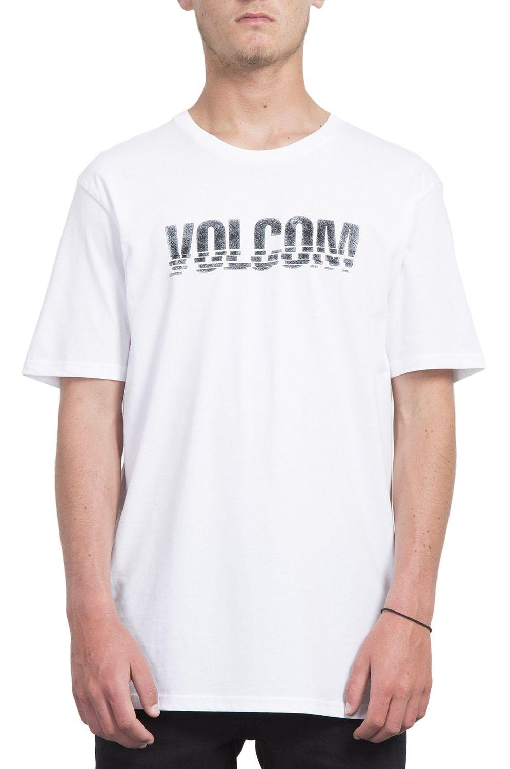 T-Shirt Volcom CHOPPED EDGE BSC White