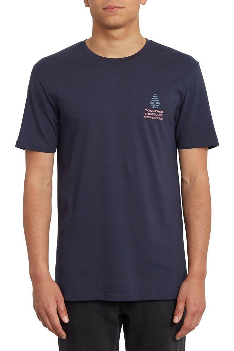 T-Shirt Volcom RADIATION BSC Navy