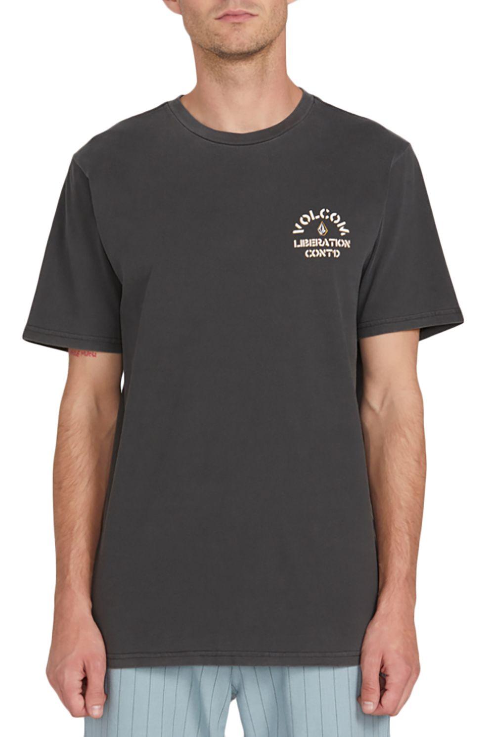 T-Shirt Volcom CJ COLLINS Black