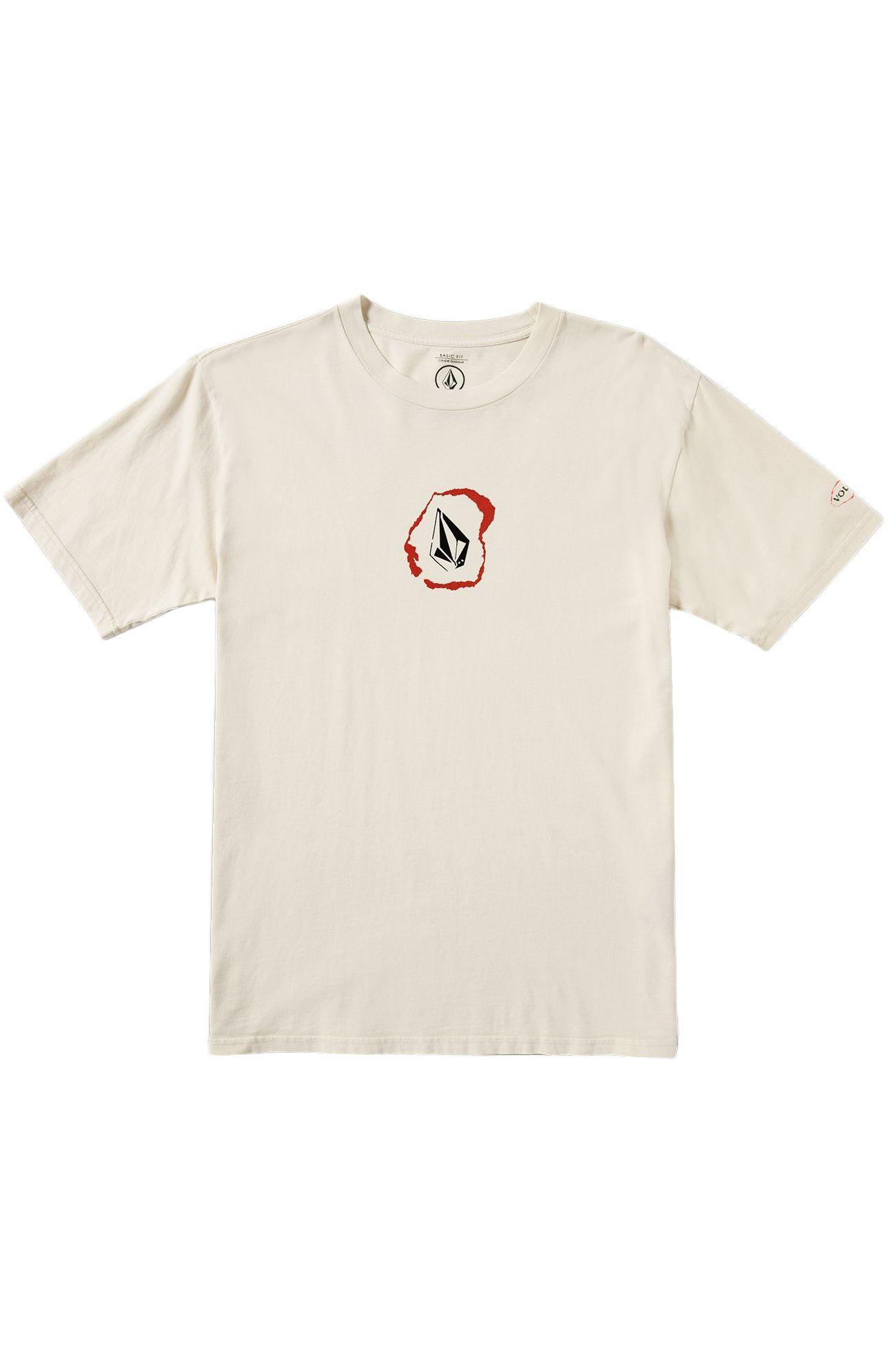 Volcom T-Shirt POSTED White Flash