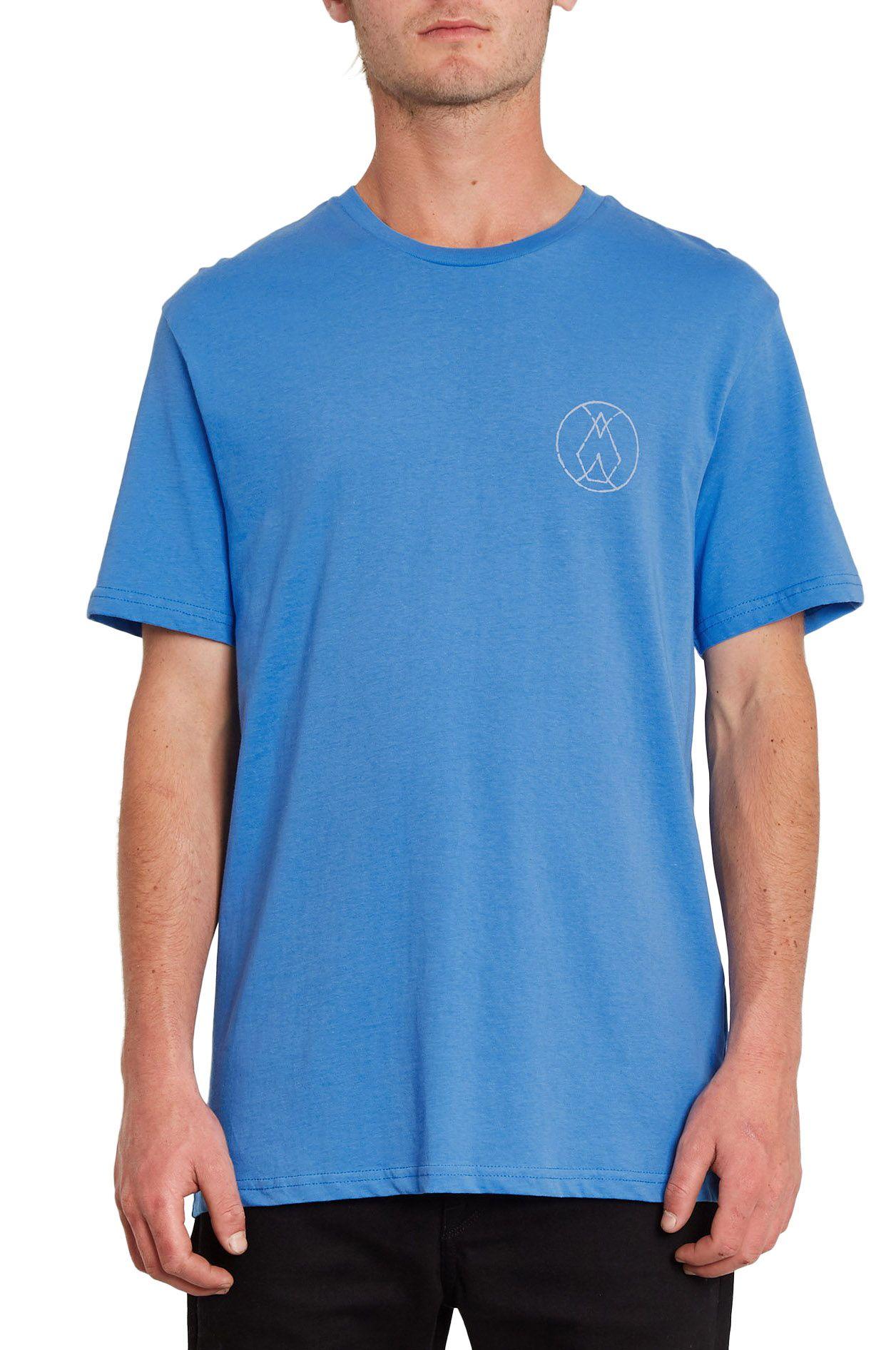 Volcom T-Shirt INNER STONE BSC SS Ballpoint Blue