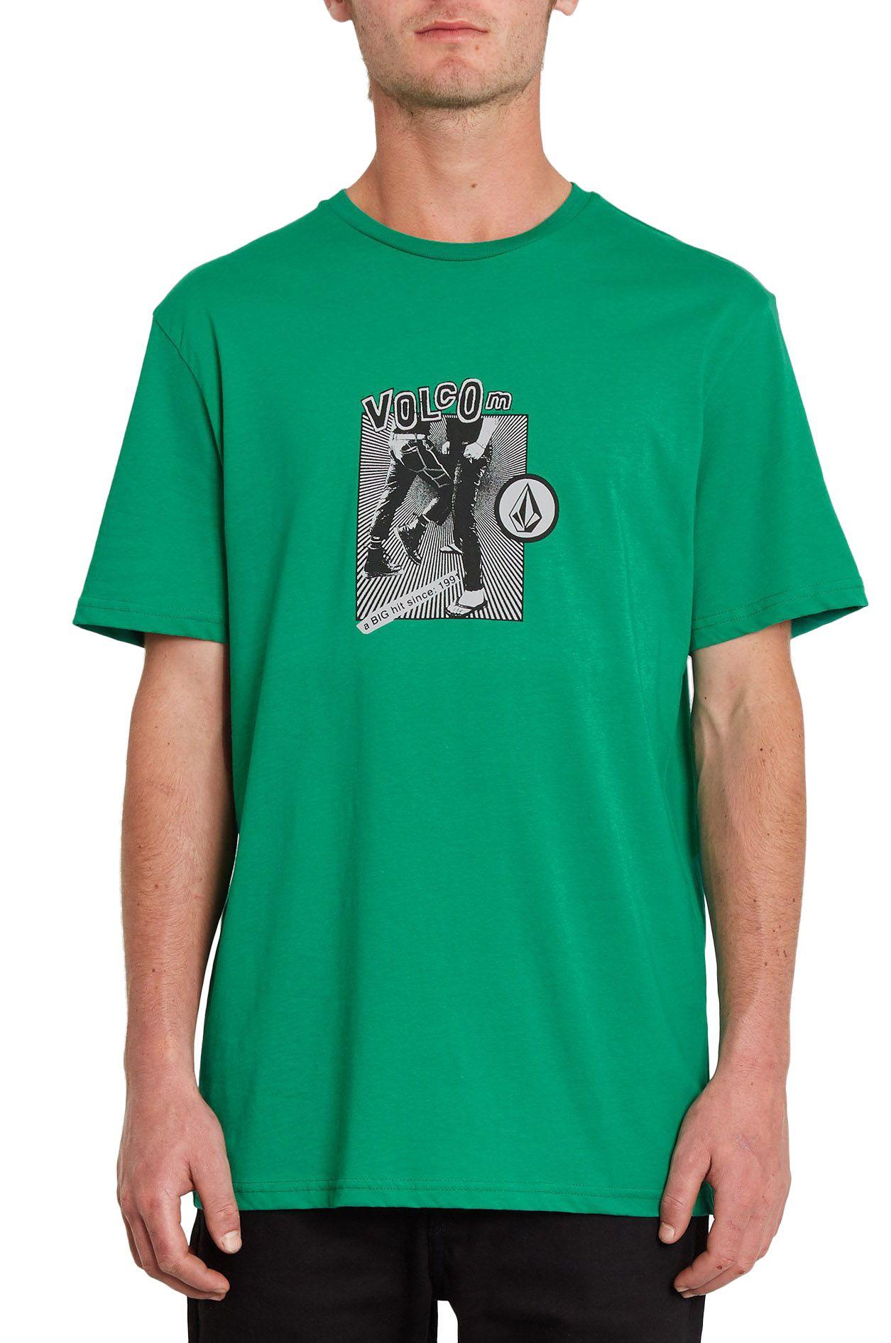 Volcom T-Shirt HITTIN BSC SS Synergy Green