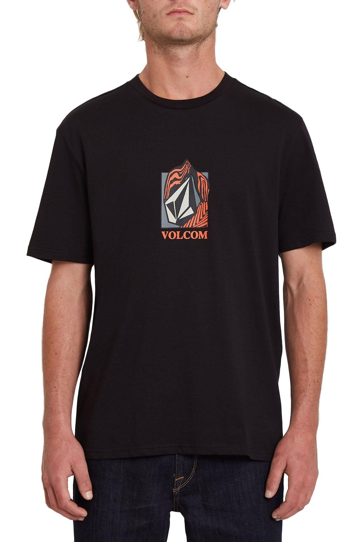 Volcom T-Shirt CROSTIC BSC SS Black