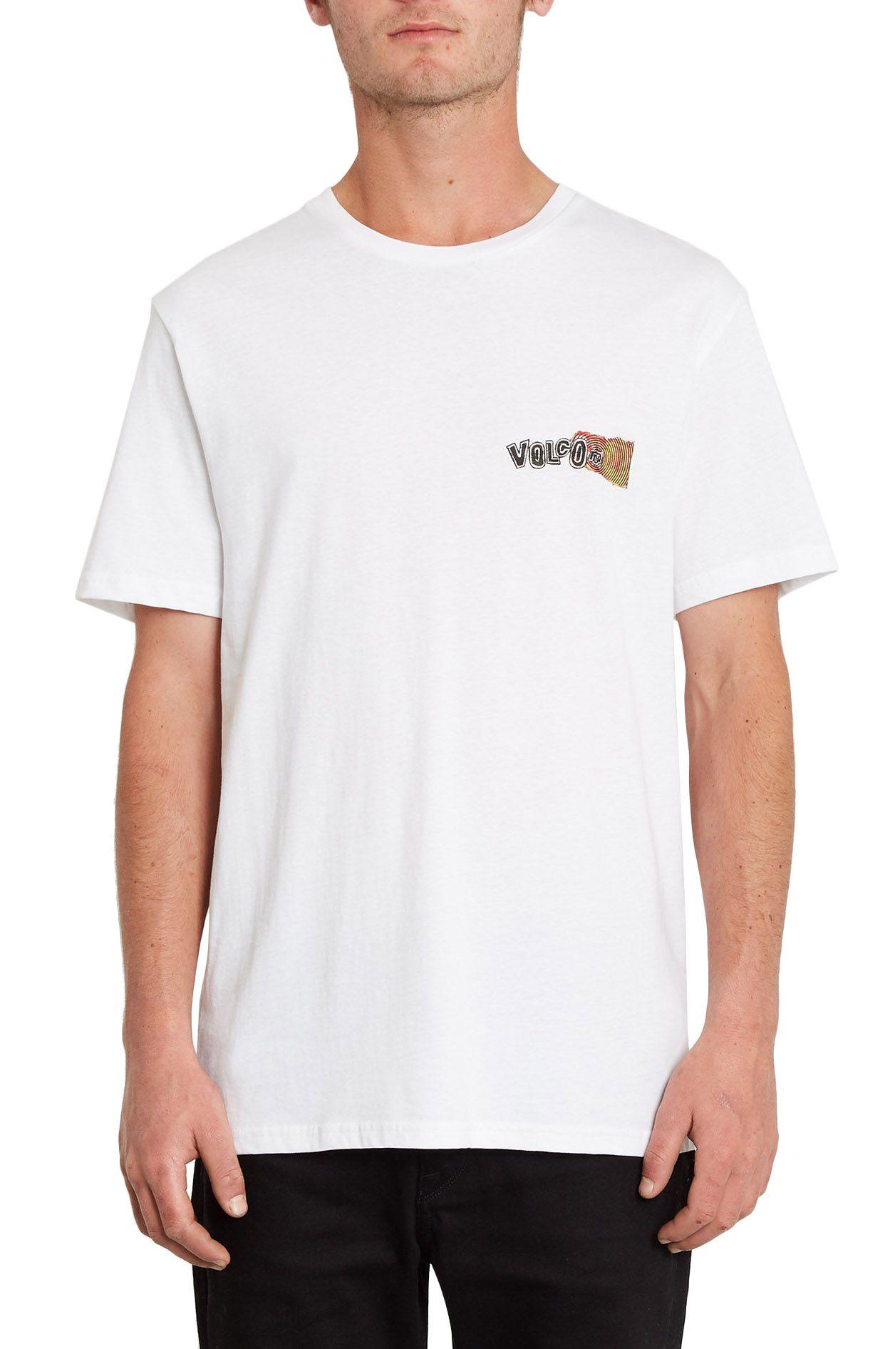 Volcom T-Shirt WORLDS COLLIDE BSC SS White