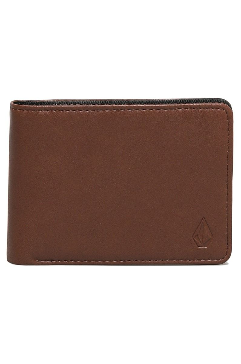 Volcom Wallet PU  STRANGLONG PU WALLET Brown