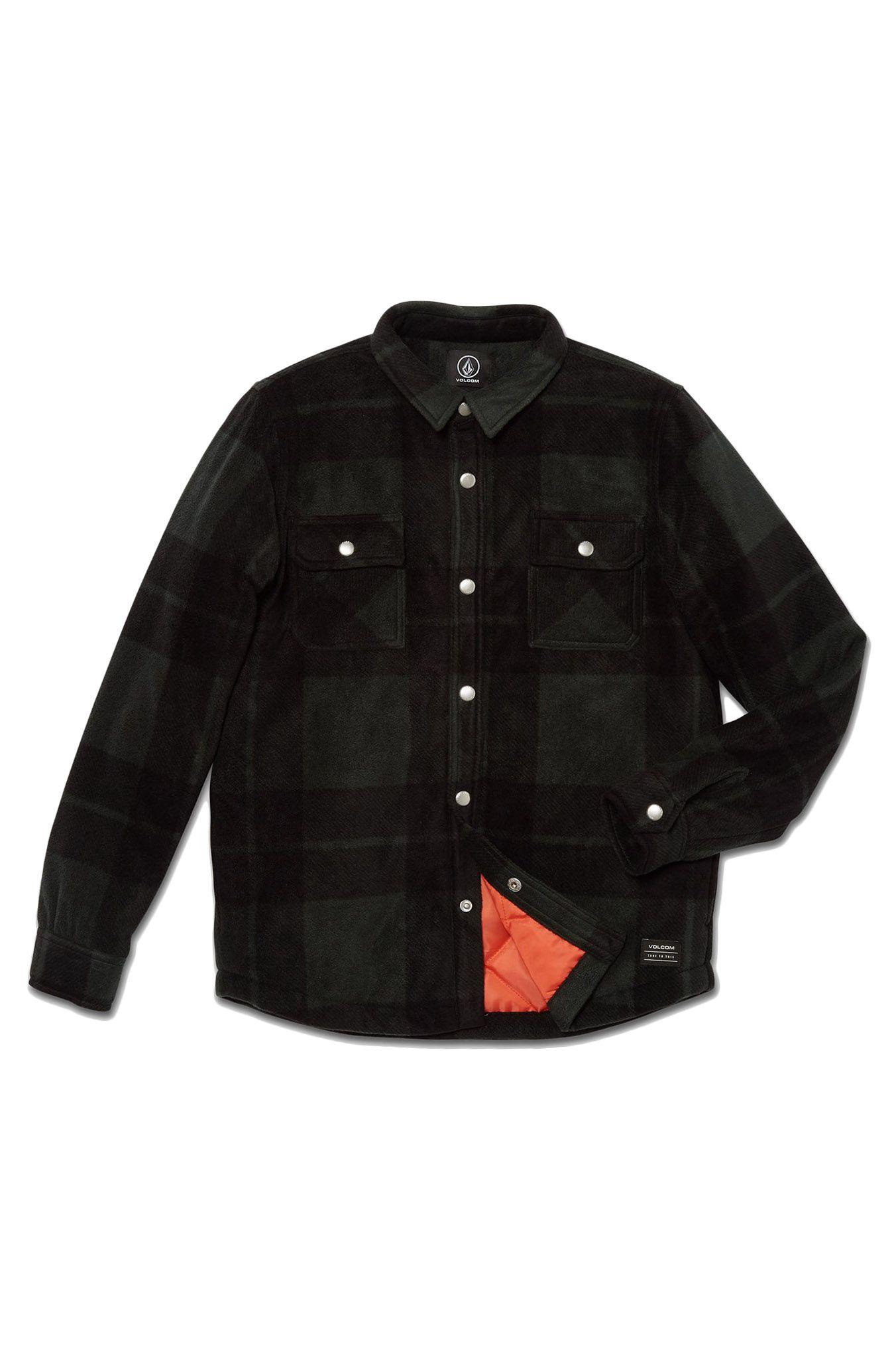 Camisa Volcom BOWERED FLEECE LS Scarab