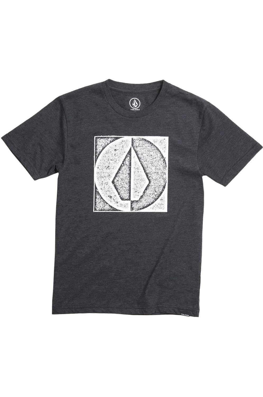 T-Shirt Volcom STAMP DIVIDE HTH Heather Black