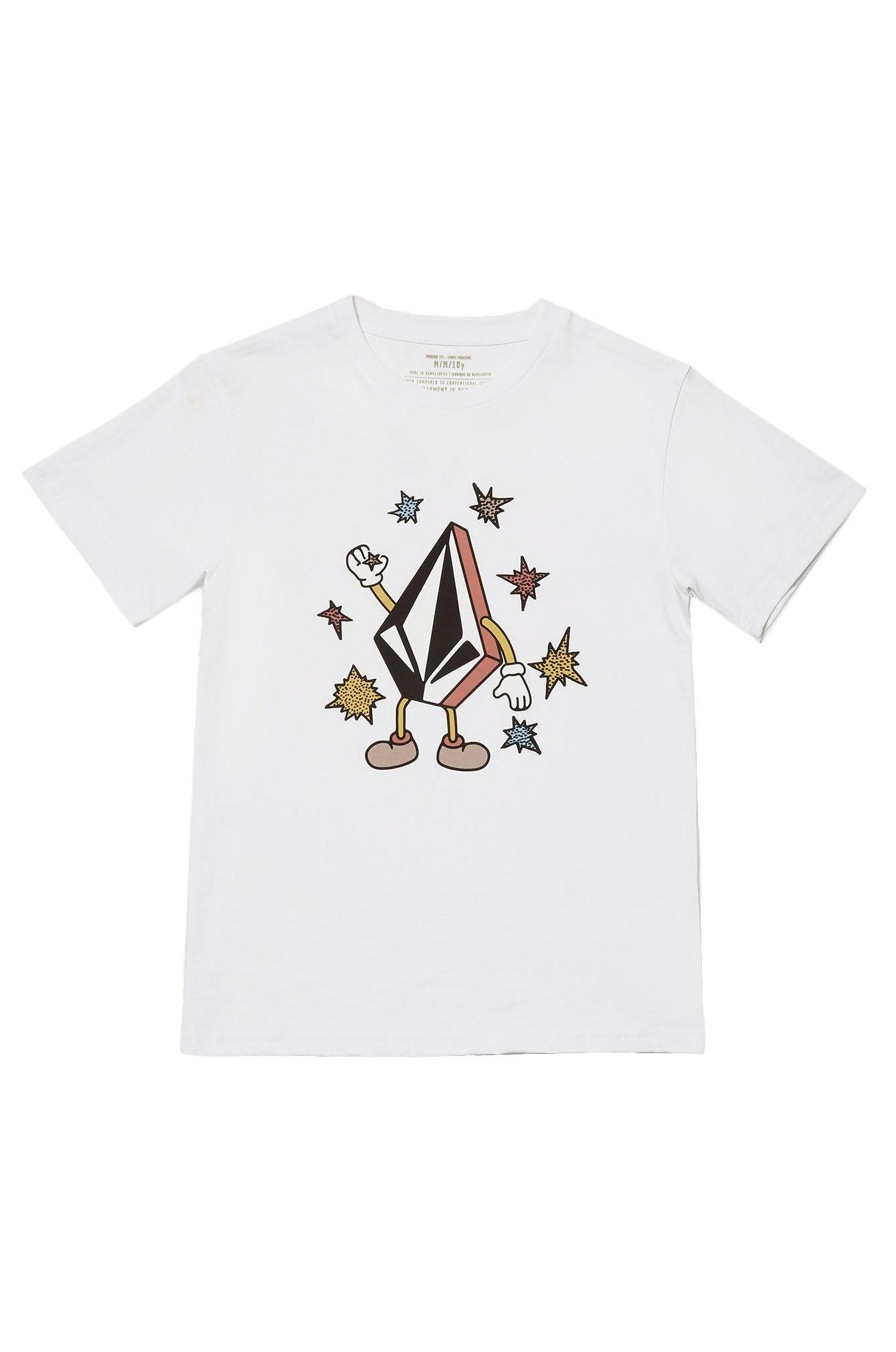 Volcom T-Shirt FIZZ STONE BSC SS White