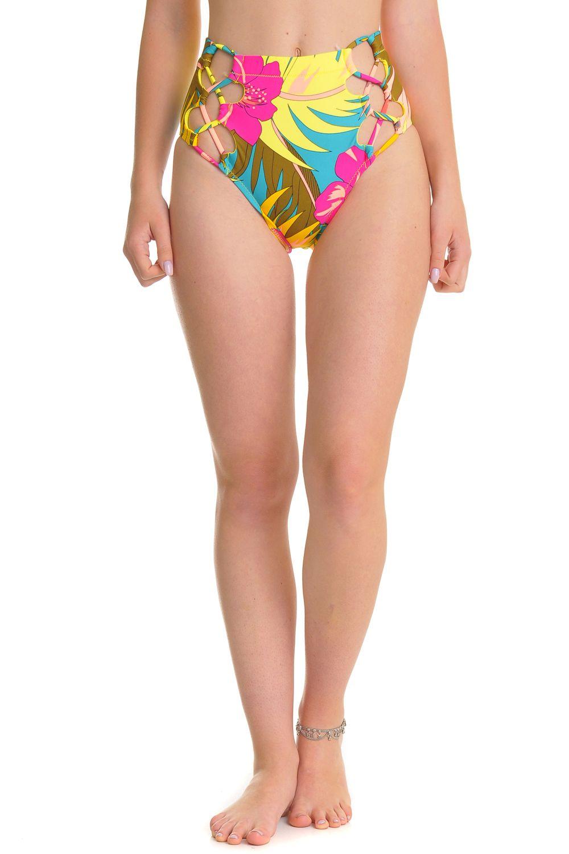 Bikini Tanga Volcom HOT TROPIC RETRO Teal