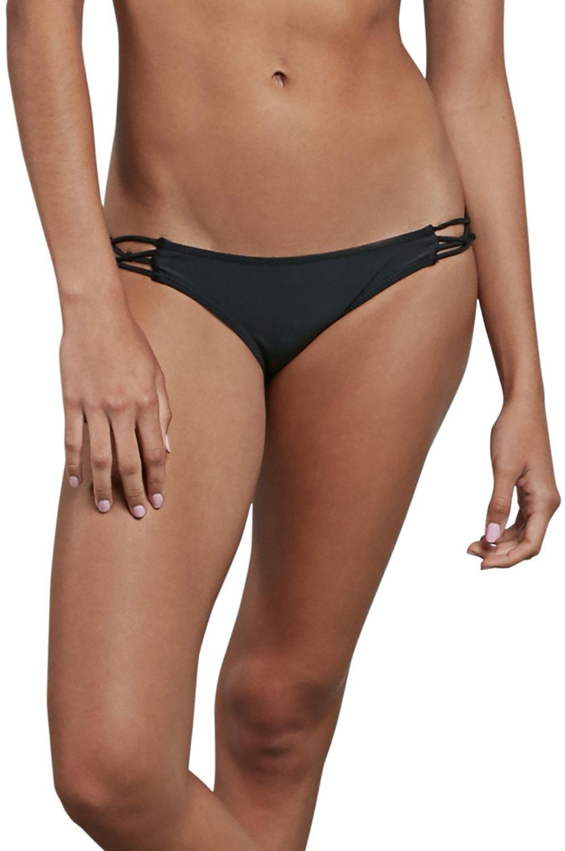Bikini Tanga Volcom SIMPLY SOLID FULL Black