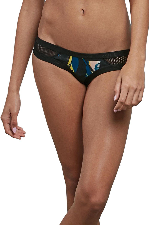 Bikini Tanga Volcom LOST MARBLES CHEEKY Black