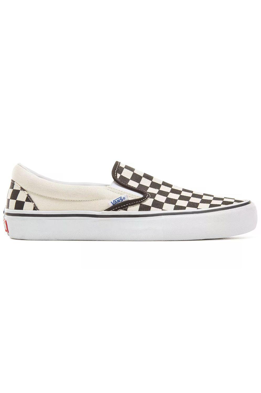 Tenis Vans SLIP-ON PRO (Checkerboard) Black/White