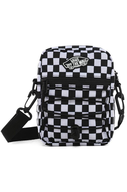 Bolsa Cintura Vans STREET READY II CROSSBODY Black/White Checkerboard