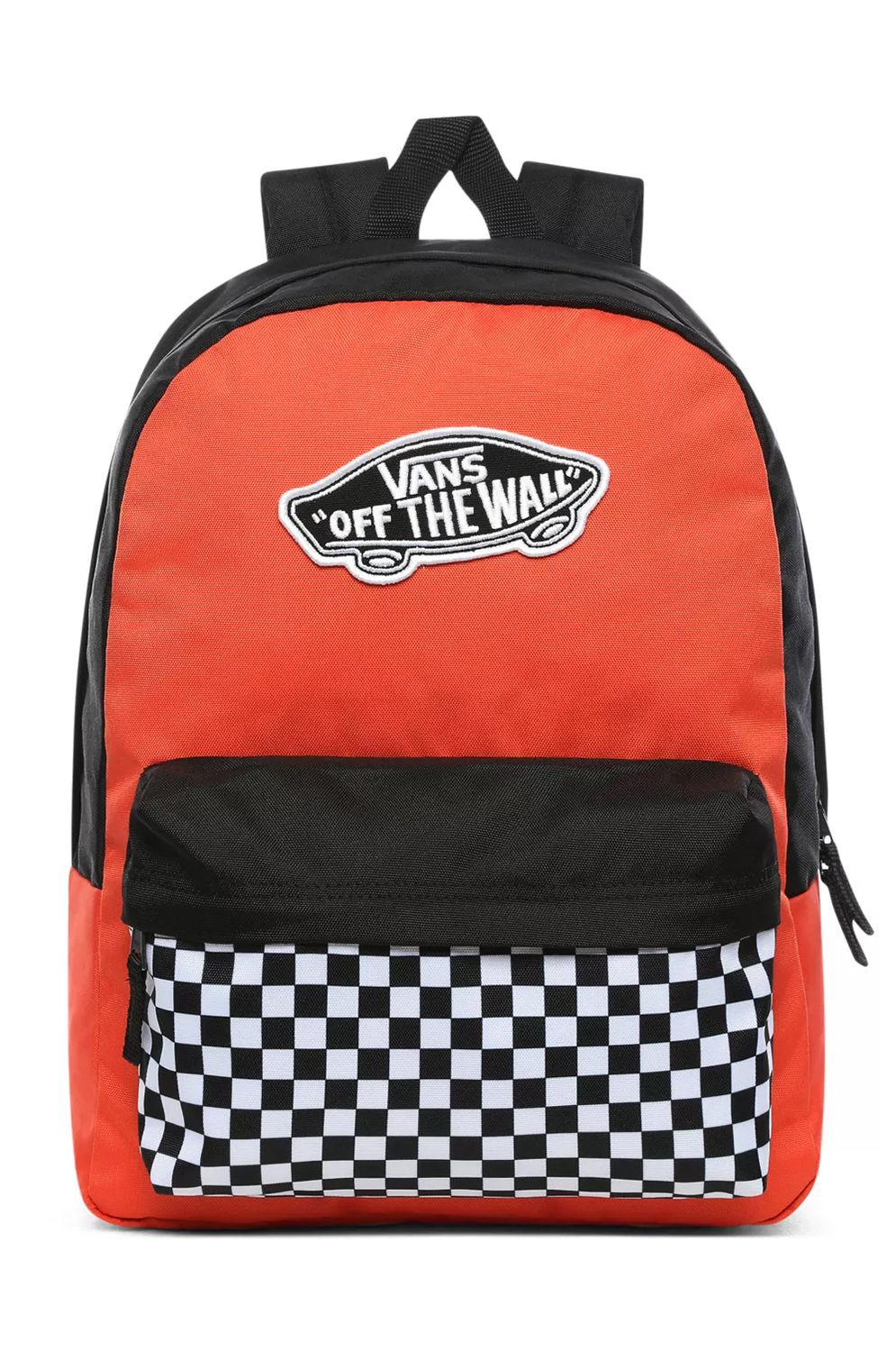 Mochila Vans REALM BACKPACK Paprika-Checkerboard