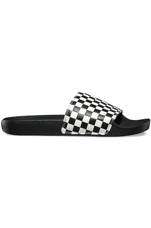 Chinelos Vans SLIDE-ON (Checkerboard) White