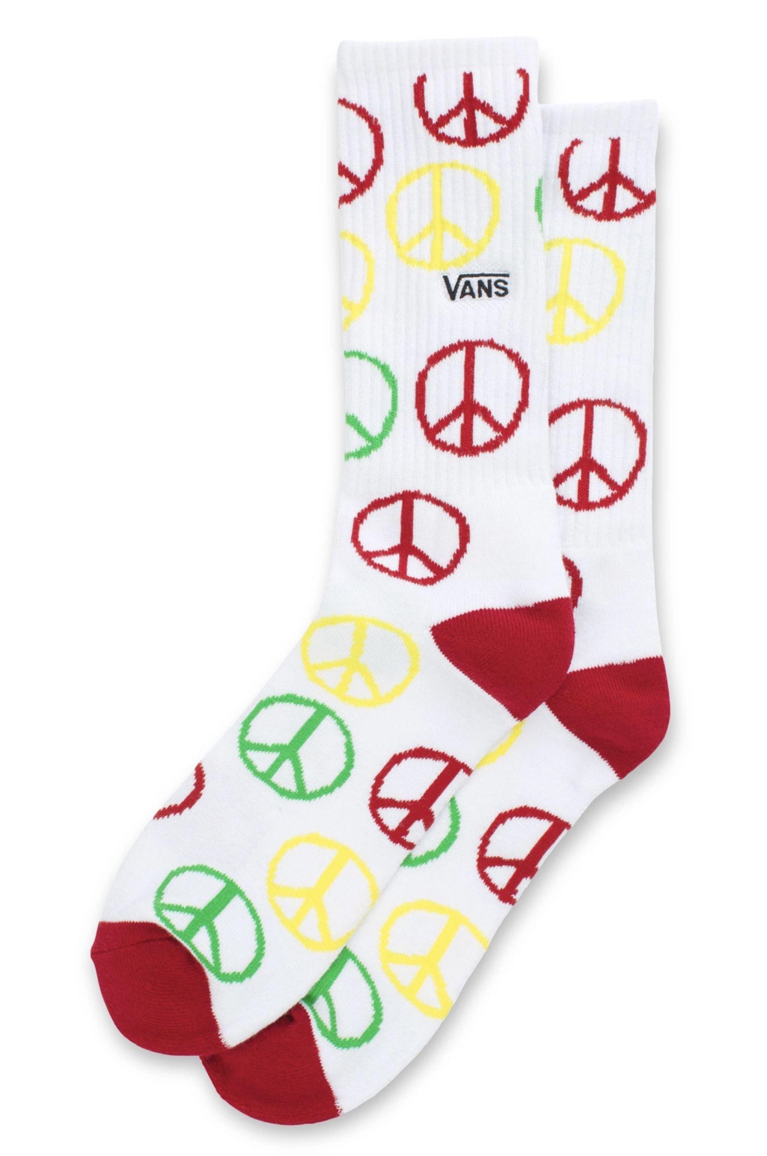 Vans Socks TYSON PETERSON SOCK (6.5-9, 1PK) White