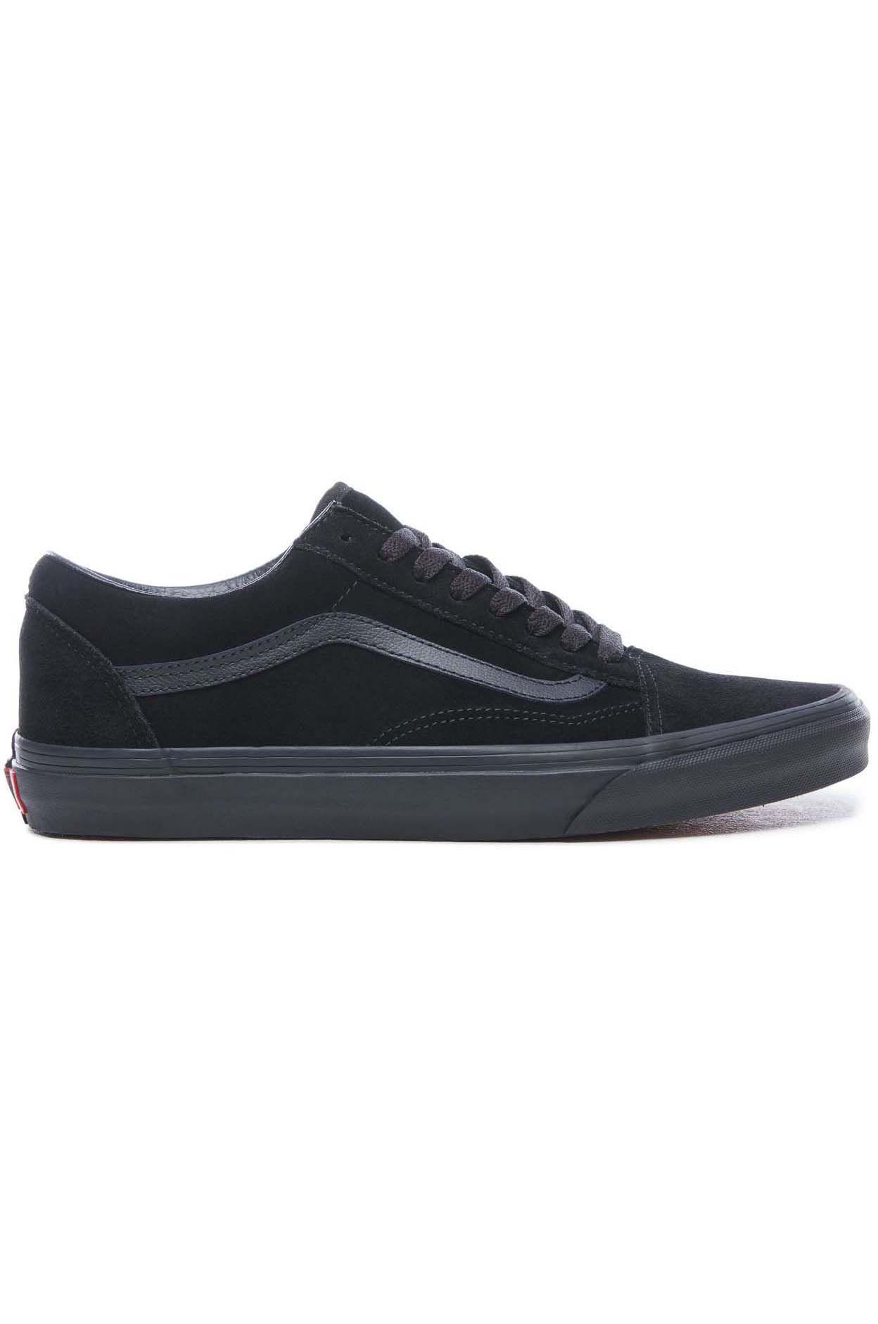 Tenis Vans OLD SKOOL (Suede) Black/Black/Black