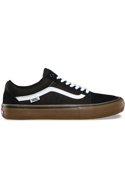 Tenis Vans OLD SKOOL PRO Black/White/Medium Gum