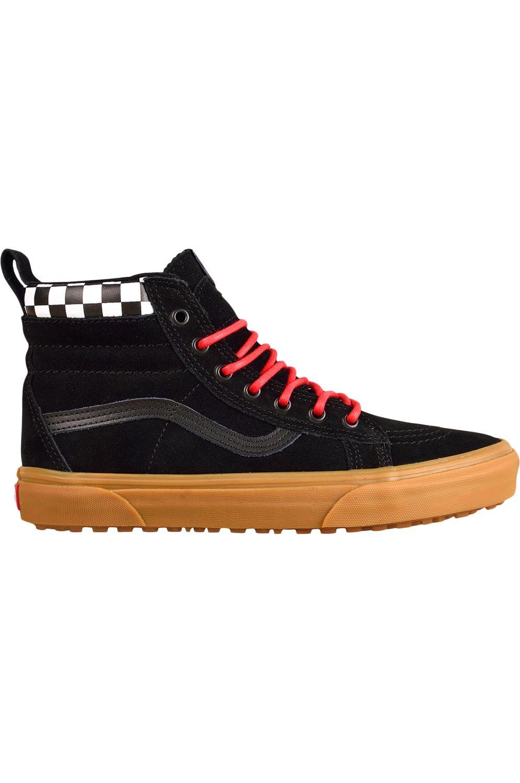 f77c6a4d0f2 Vans Shoes SK8-HI MTE (Mte) Checkerboard Black