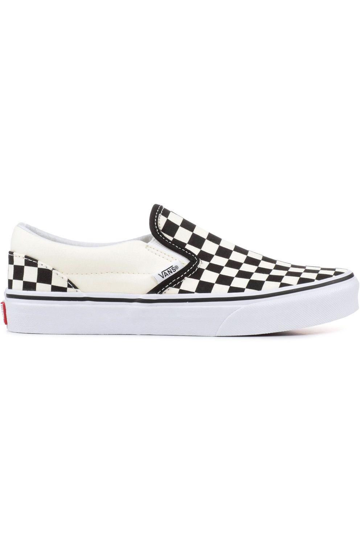 Tenis Vans UY CLASSIC SLIP-ON (Checkerboard) Black/Wht