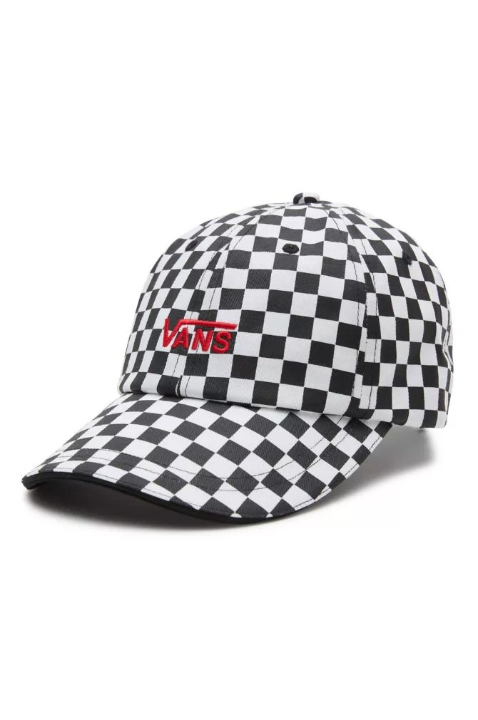 Bone Vans LOW RIDER HAT Black/White Checkerboard