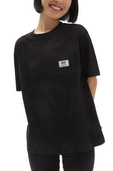 Vans T-Shirt CLASSIC PATCH POCKET Black