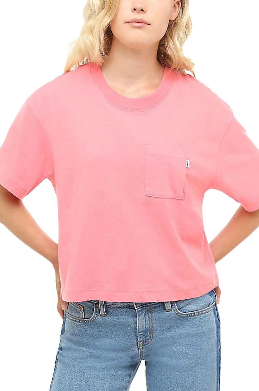 T-Shirt Vans BRUSH OFF TOP Strawberry Pink