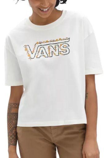 Vans T-Shirt TRIPPY GARDEN Marshmallow