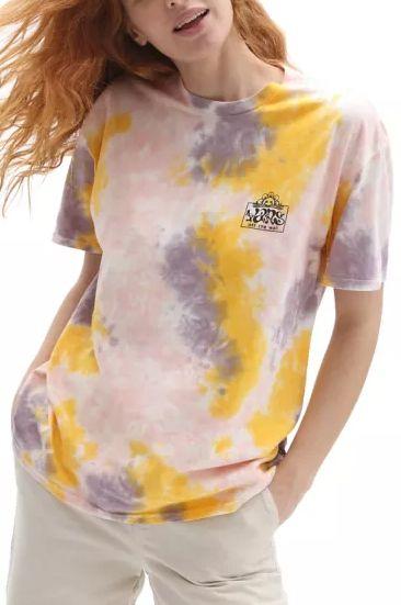 T-Shirt Vans MASCY GRUNGE WASH Purple Dove