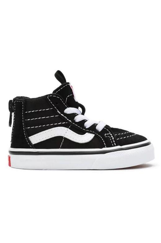 Tenis Vans TD SK8-HI ZIP Black/White