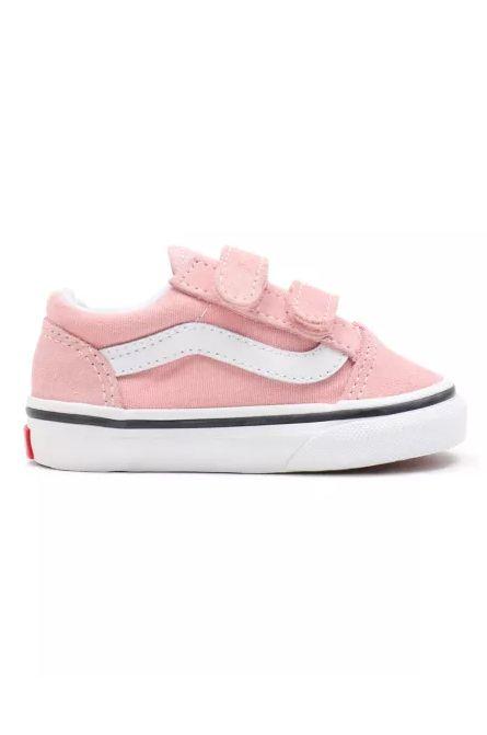 Tenis Vans TD OLD SKOOL V Powder Pink/True White