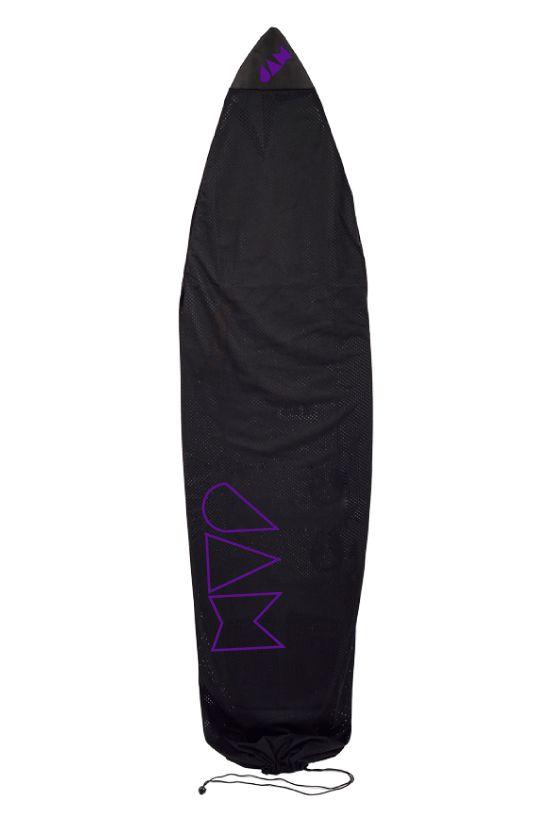 Jam Boardbag 6'0 - 6'3 SUPER LIGHT AIR CIRCULATED MESH BOARD SOCK Purple Logo