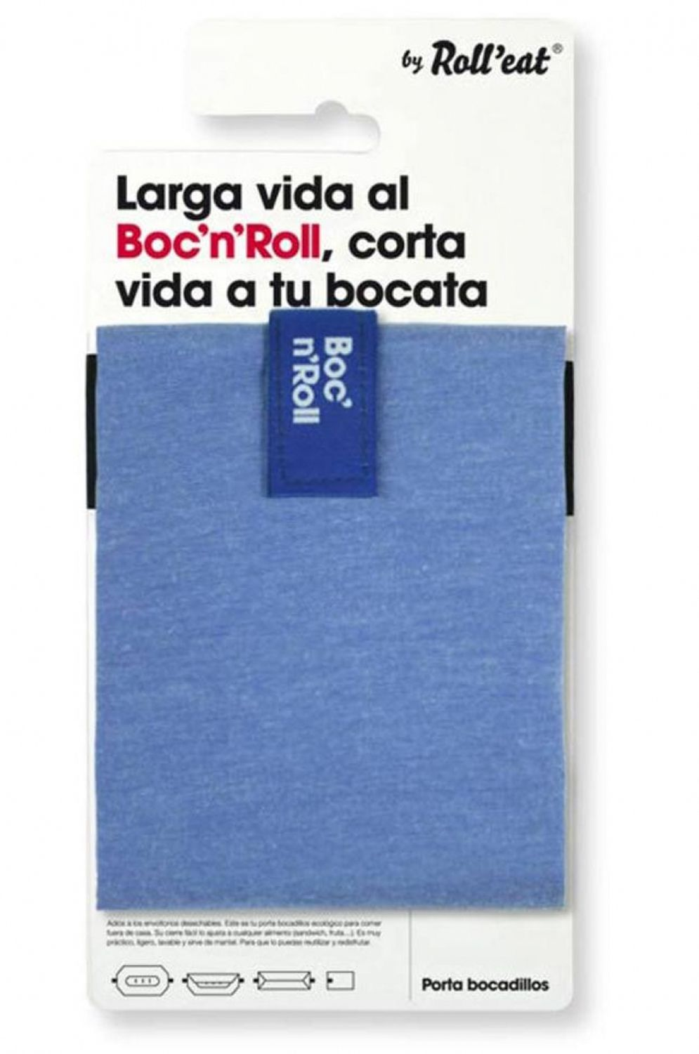 Bolsa Roll'Eat Transporte Alimentos BOC'N'ROLL ECO Blue