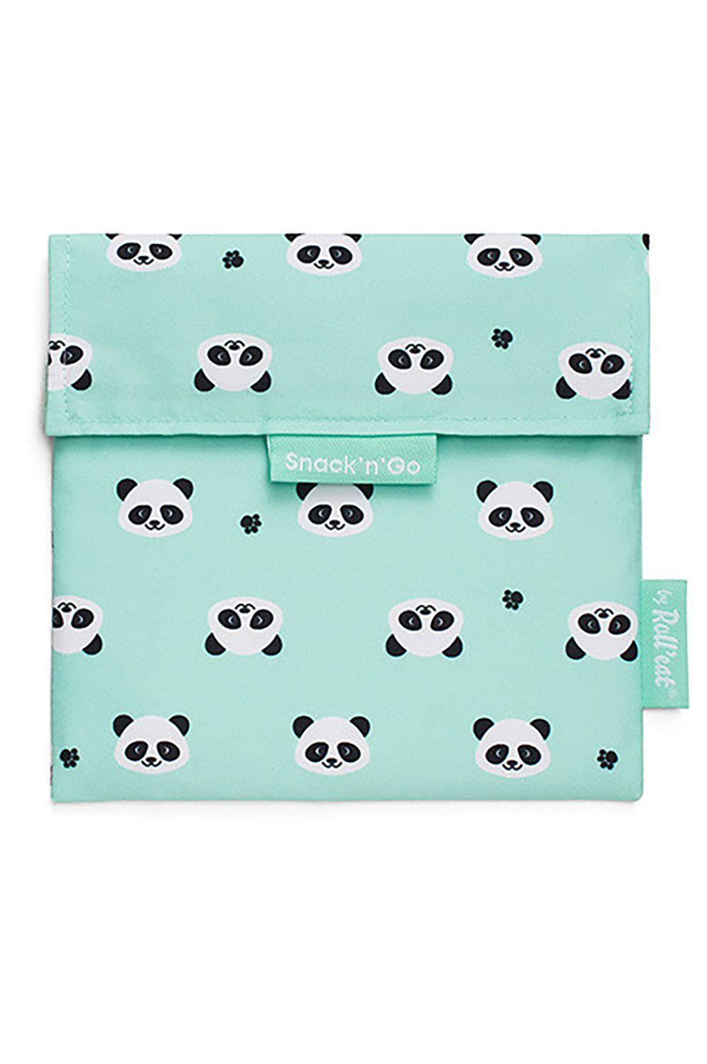 Bolsa Roll'Eat SNACK'N'GO ANIMALS Panda