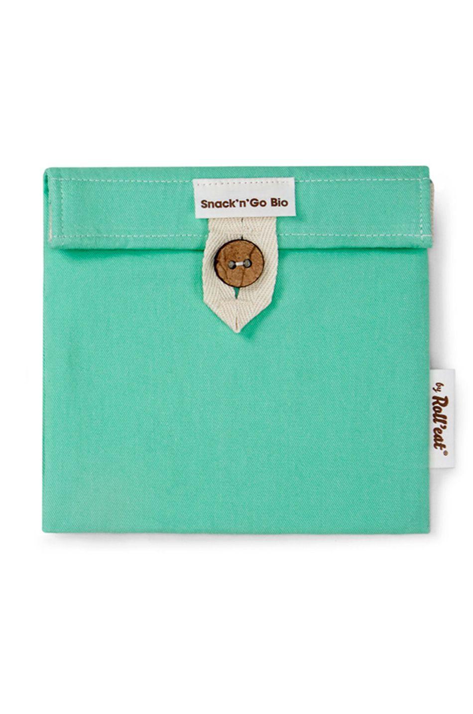 Bolsa Roll'Eat SNACK'N'GO BIO Green