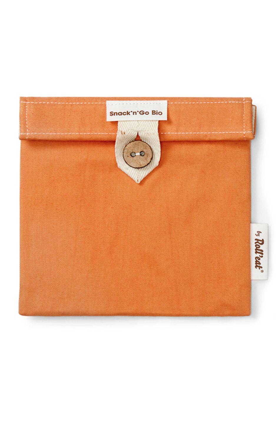 Bolsa Roll'Eat SNACK'N'GO BIO Orange