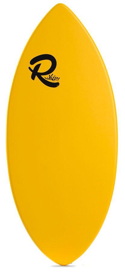 Prancha Skimming Reflex Skimboards BASIC Amarelo