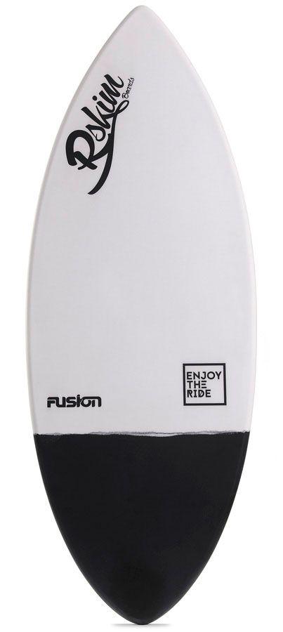 Prancha Skimming RSkimboards FUSION Branco/Preto