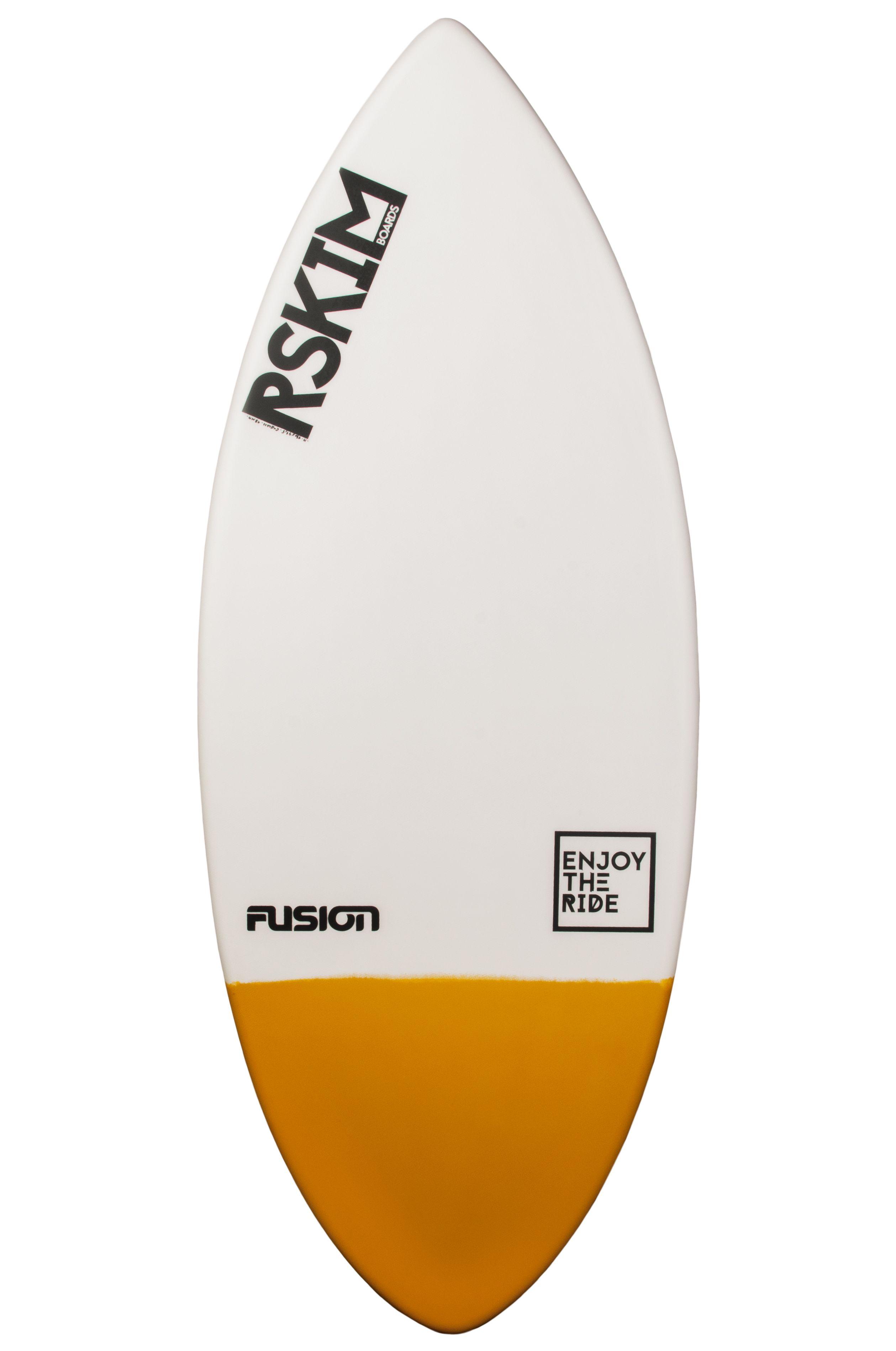 RSkimboards Skimming Board FUSION Branco/Amarelo