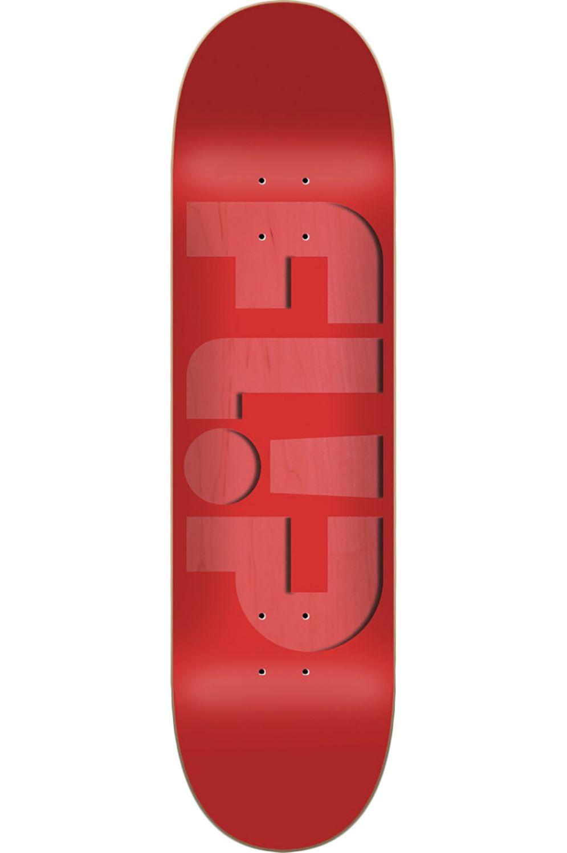 "Flip Skate Board 8"" X 31.5"" ODYSSEY EMBOSSED Red"